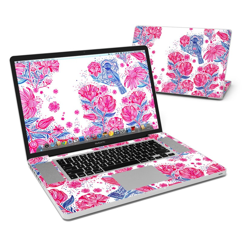 Freedom Flowers MacBook Pro 17-inch Skin