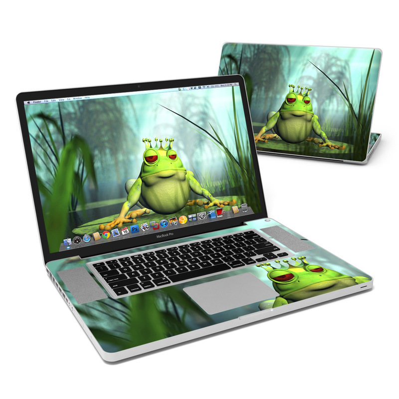 Frog Prince MacBook Pro 17-inch Skin