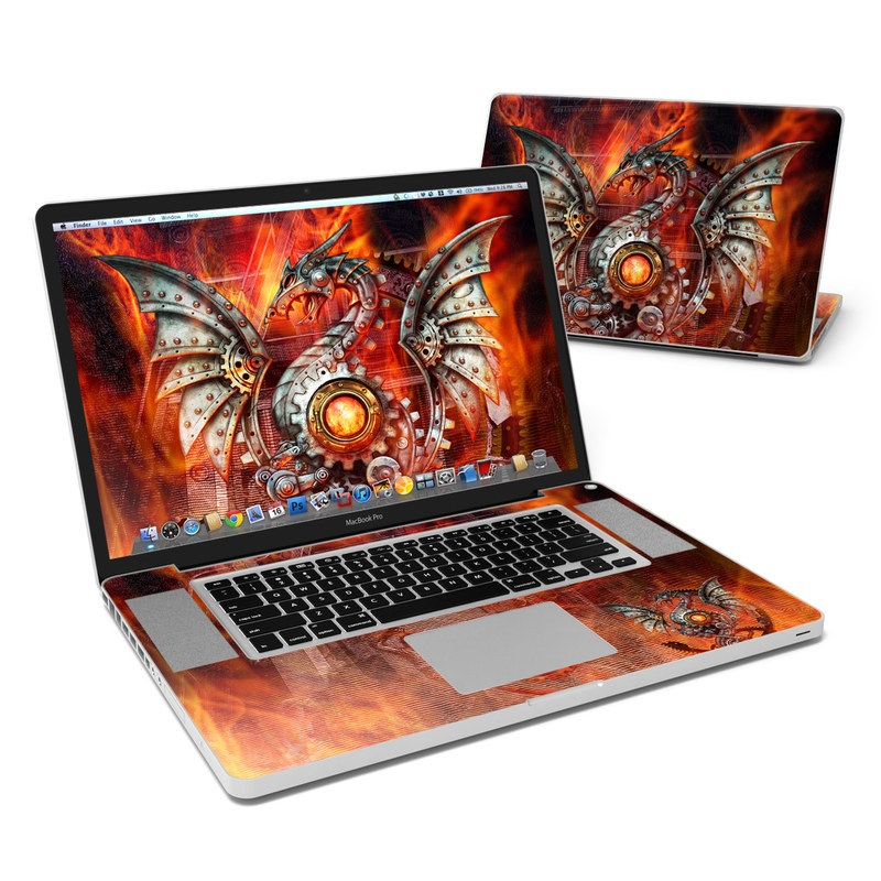 Furnace Dragon MacBook Pro 17-inch Skin