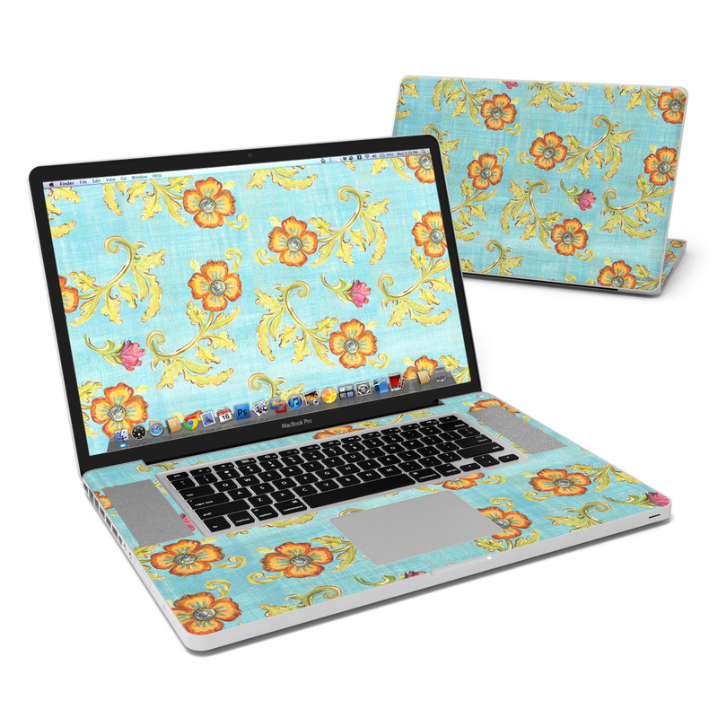 Garden Jewel MacBook Pro 17-inch Skin