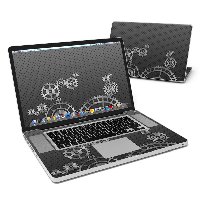 Gear Wheel MacBook Pro 17-inch Skin