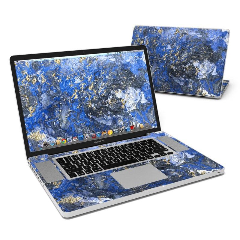 Gilded Ocean Marble MacBook Pro 17-inch Skin