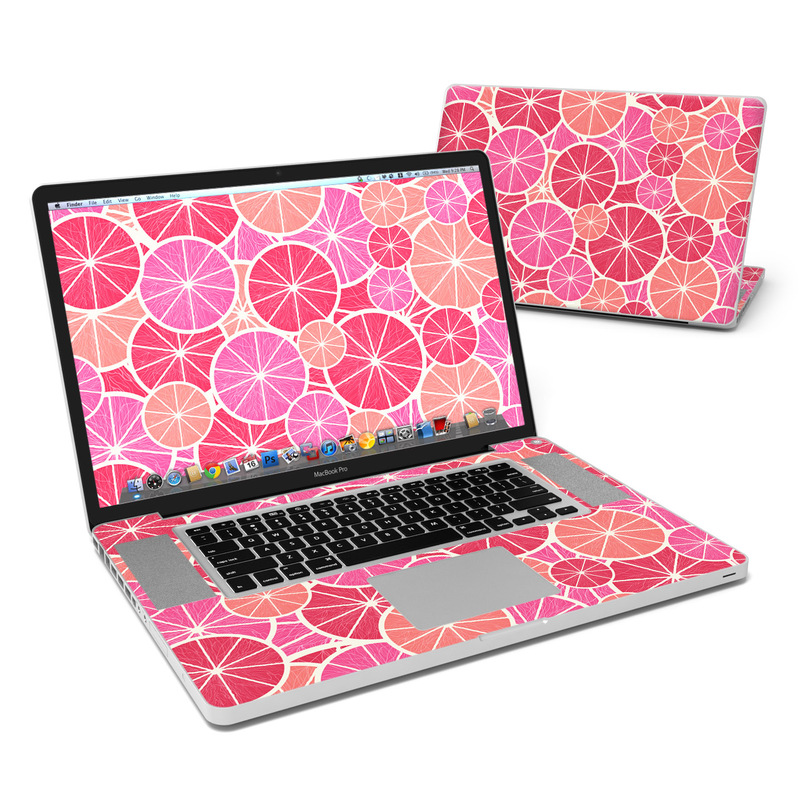 Grapefruit MacBook Pro 17-inch Skin