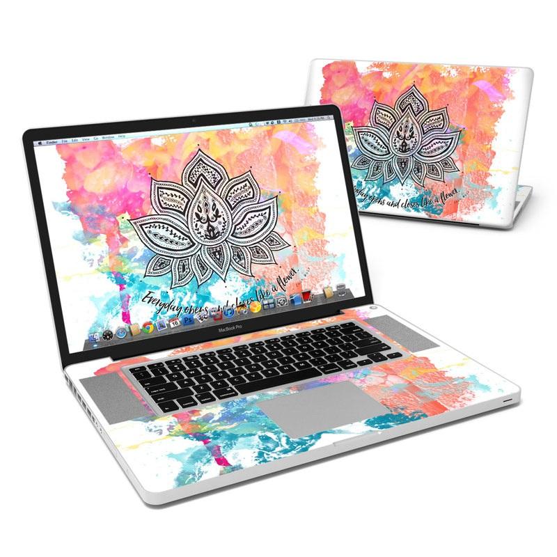 Happy Lotus MacBook Pro 17-inch Skin