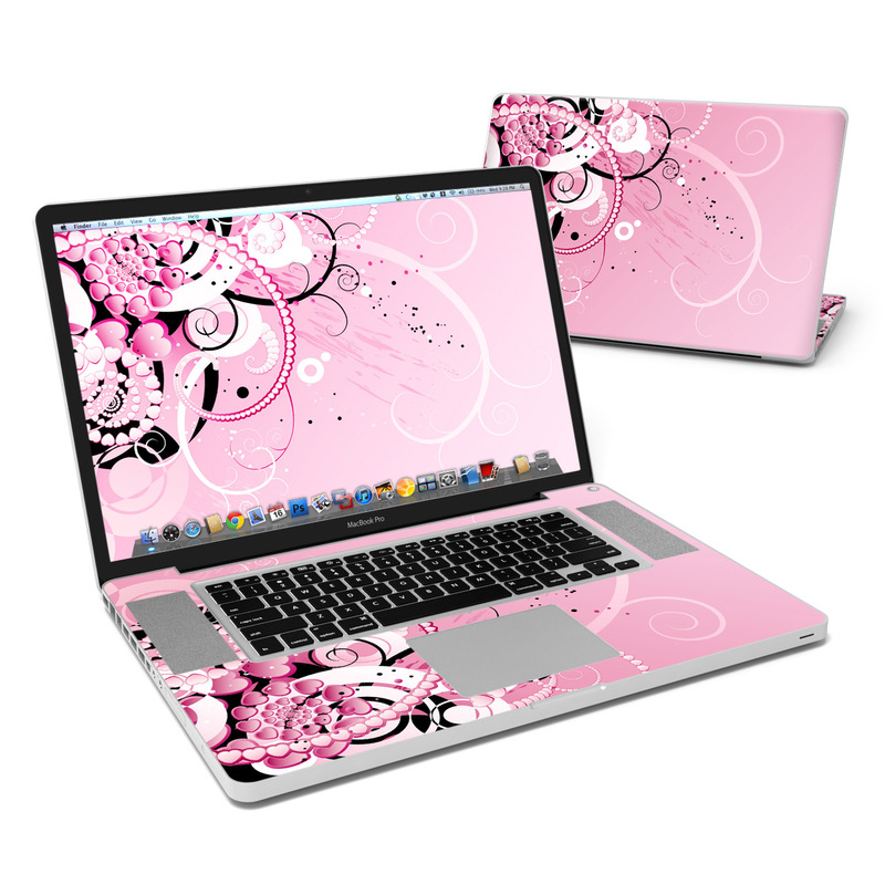 Her Abstraction MacBook Pro 17-inch Skin