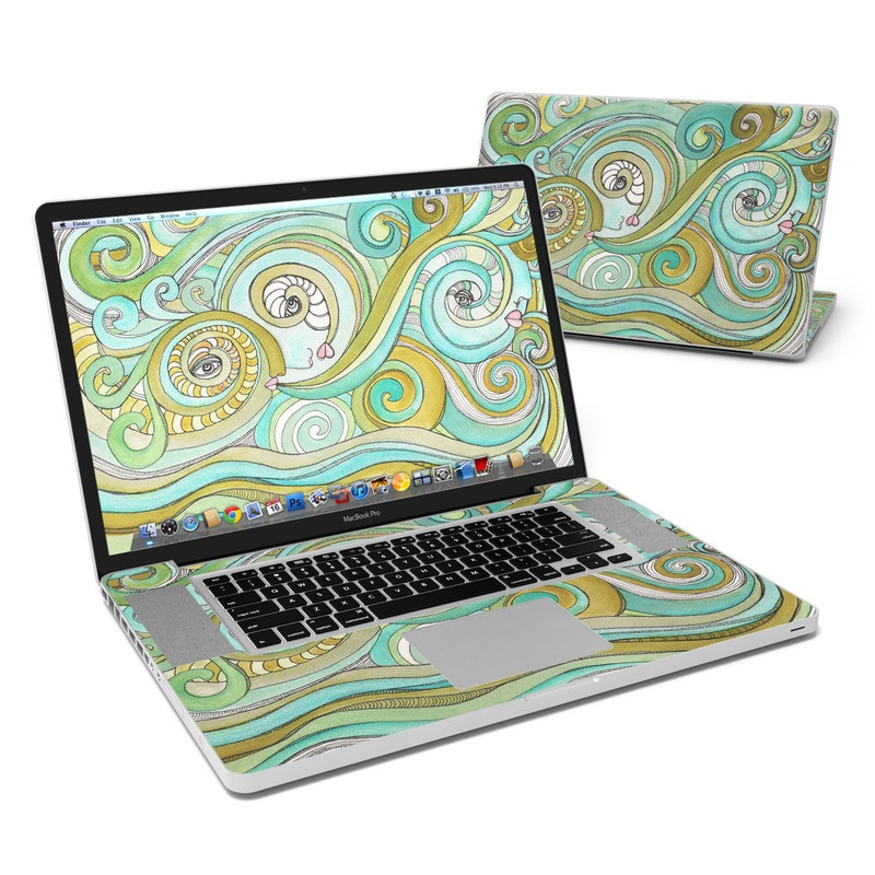 Honeydew Ocean MacBook Pro 17-inch Skin