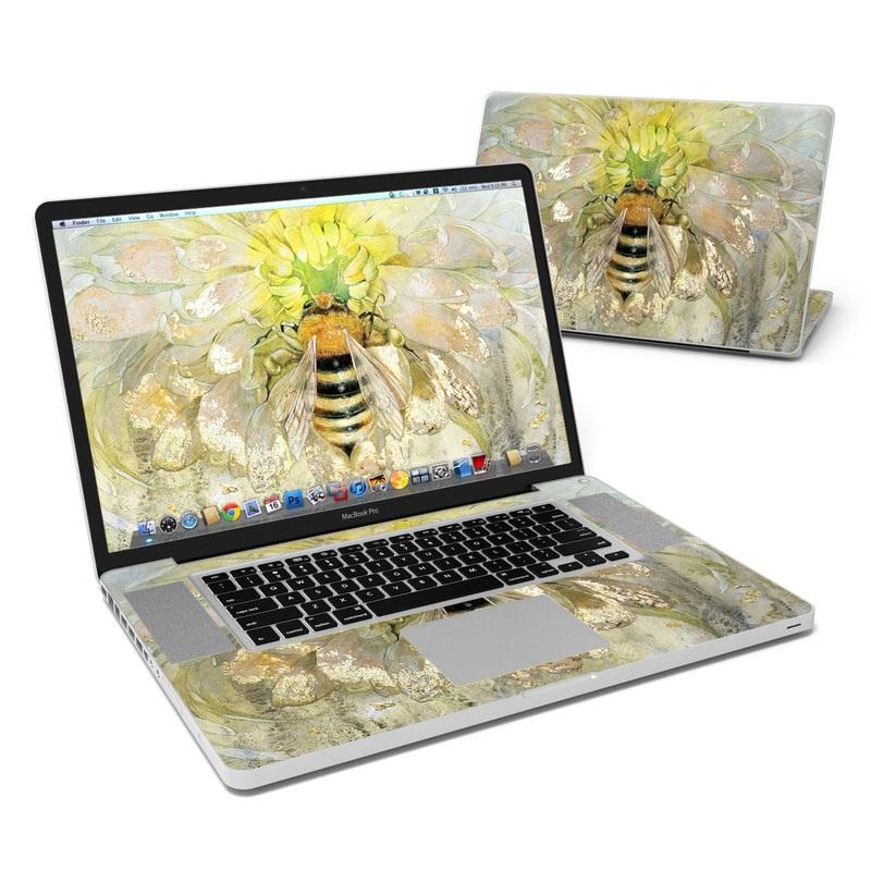 Honey Bee MacBook Pro 17-inch Skin