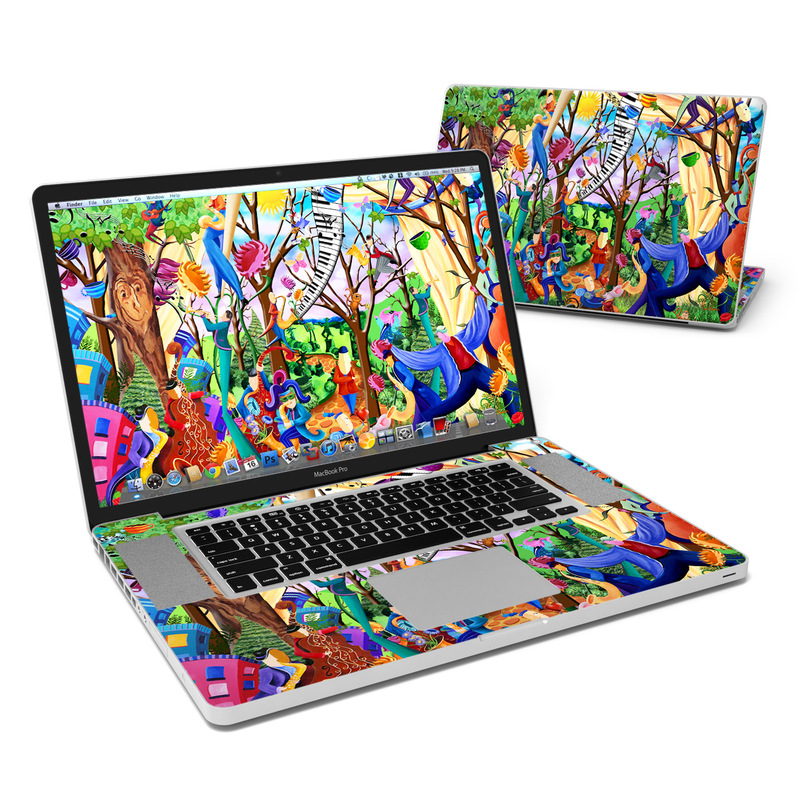 Happy Town Celebration MacBook Pro 17-inch Skin