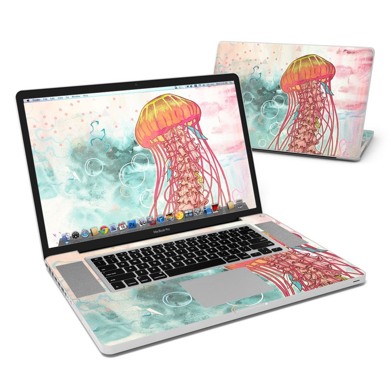 Jellyfish MacBook Pro 17-inch Skin