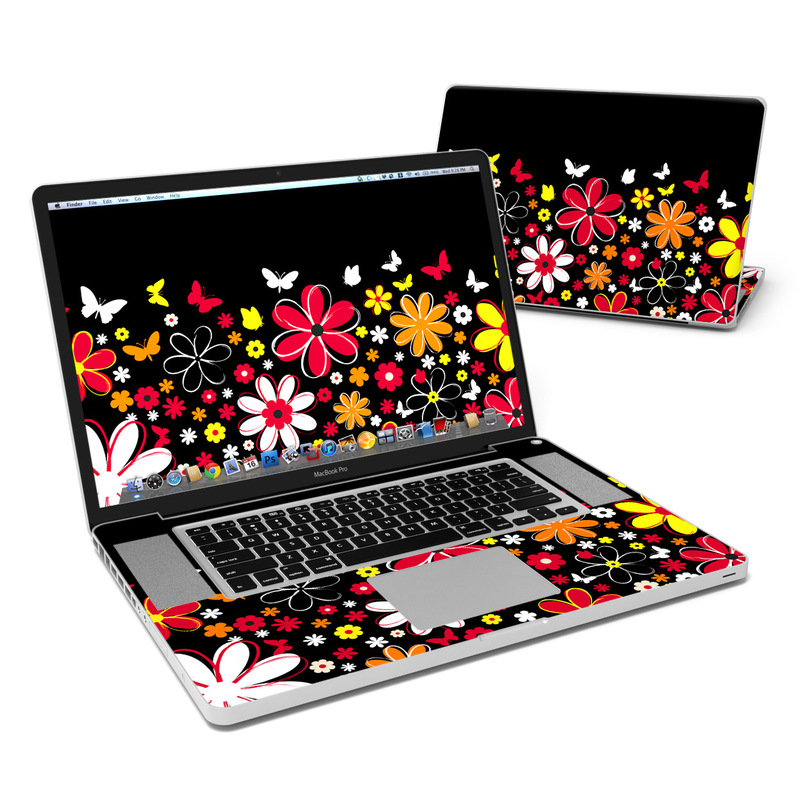 Laurie's Garden MacBook Pro 17-inch Skin