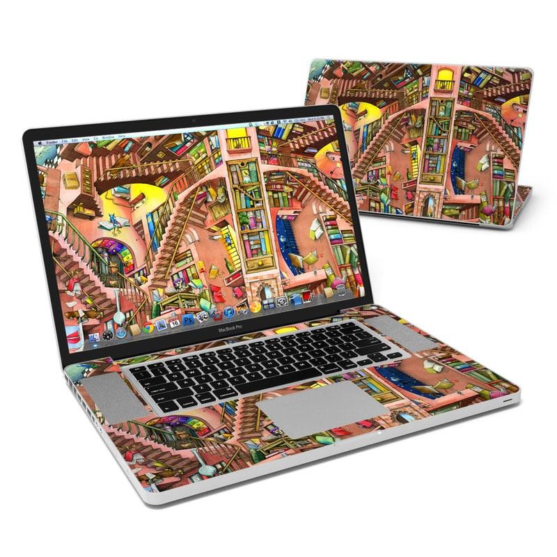 Library Magic MacBook Pro 17-inch Skin