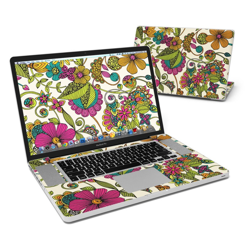 Maia Flowers MacBook Pro 17-inch Skin