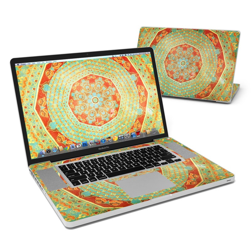 Mandala Citrus MacBook Pro 17-inch Skin