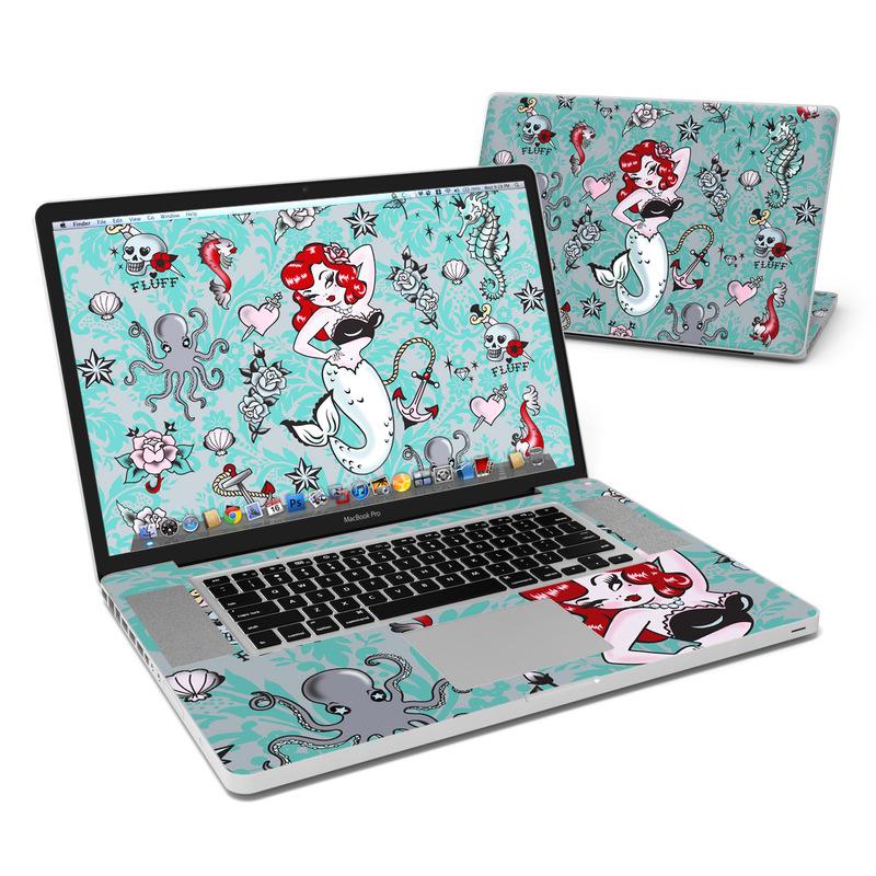 Molly Mermaid MacBook Pro 17-inch Skin