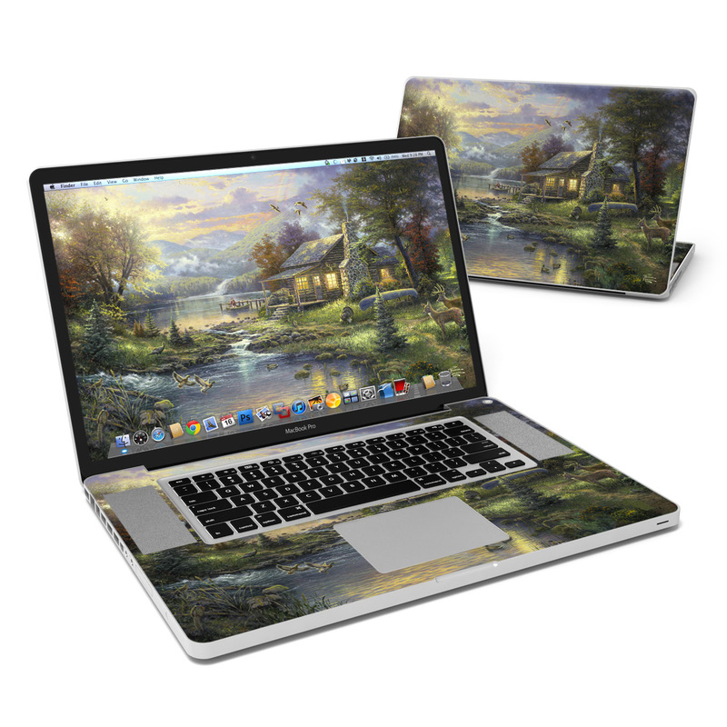 Natures Paradise MacBook Pro 17-inch Skin