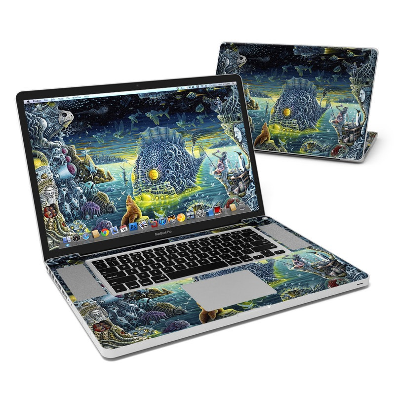 Night Trawlers MacBook Pro 17-inch Skin