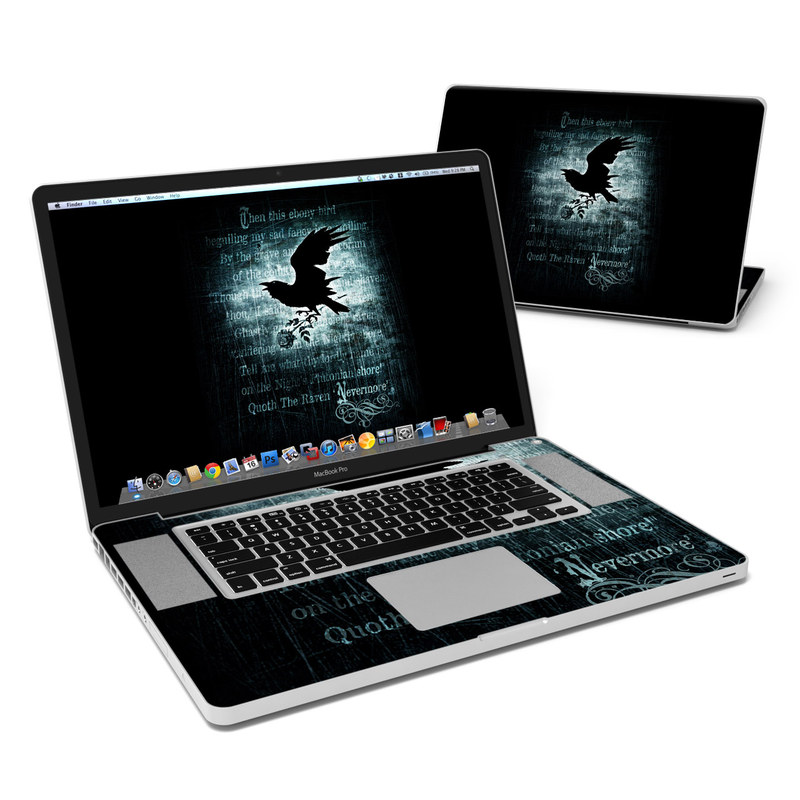 Nevermore MacBook Pro 17-inch Skin