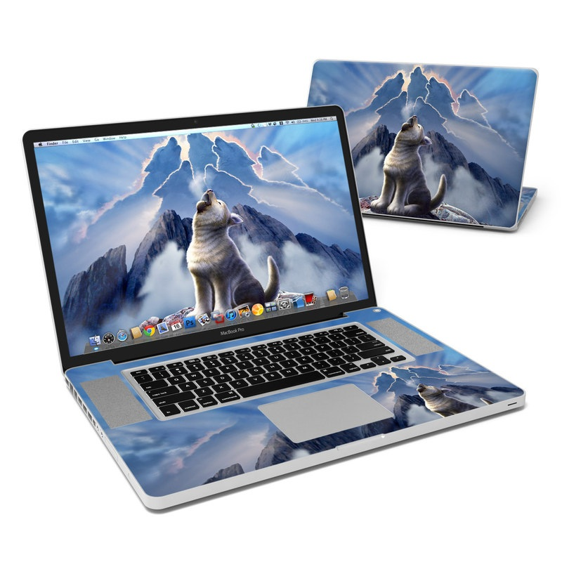 Leader of the Pack MacBook Pro 17-inch Skin