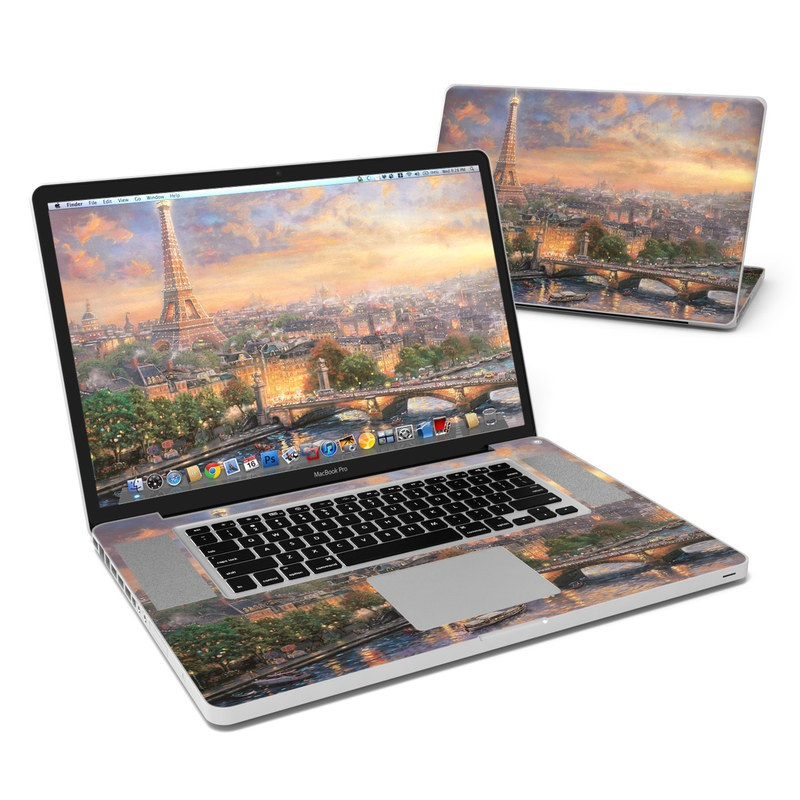 Paris City of Love MacBook Pro 17-inch Skin