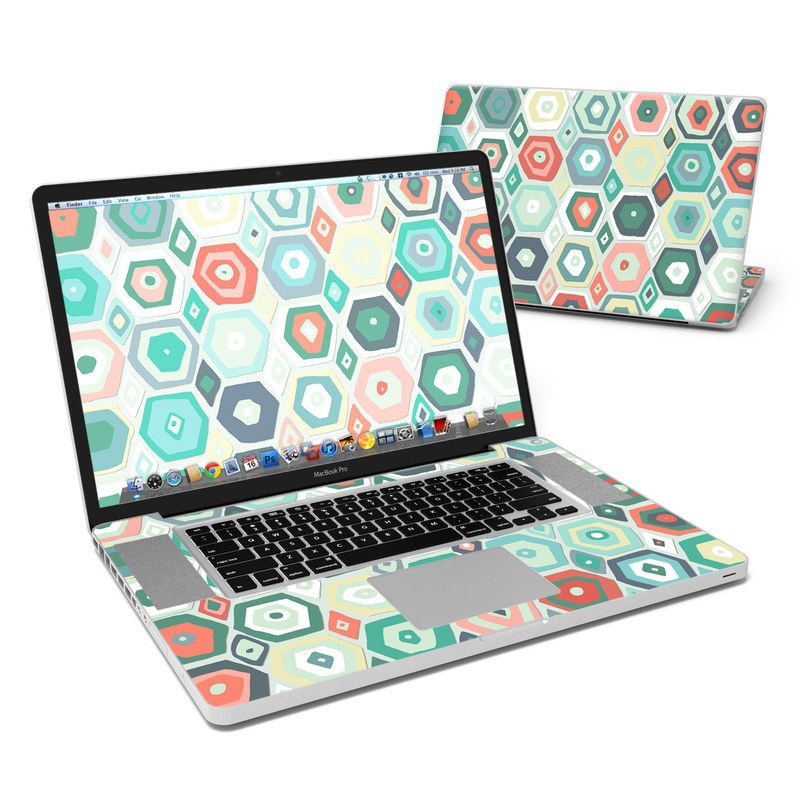 Pastel Diamond MacBook Pro 17-inch Skin