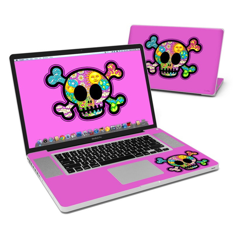 Peace Skull MacBook Pro 17-inch Skin