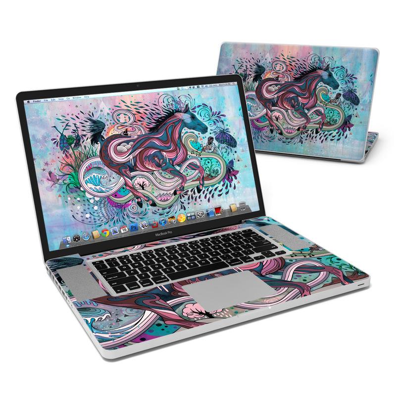 Poetry in Motion MacBook Pro 17-inch Skin