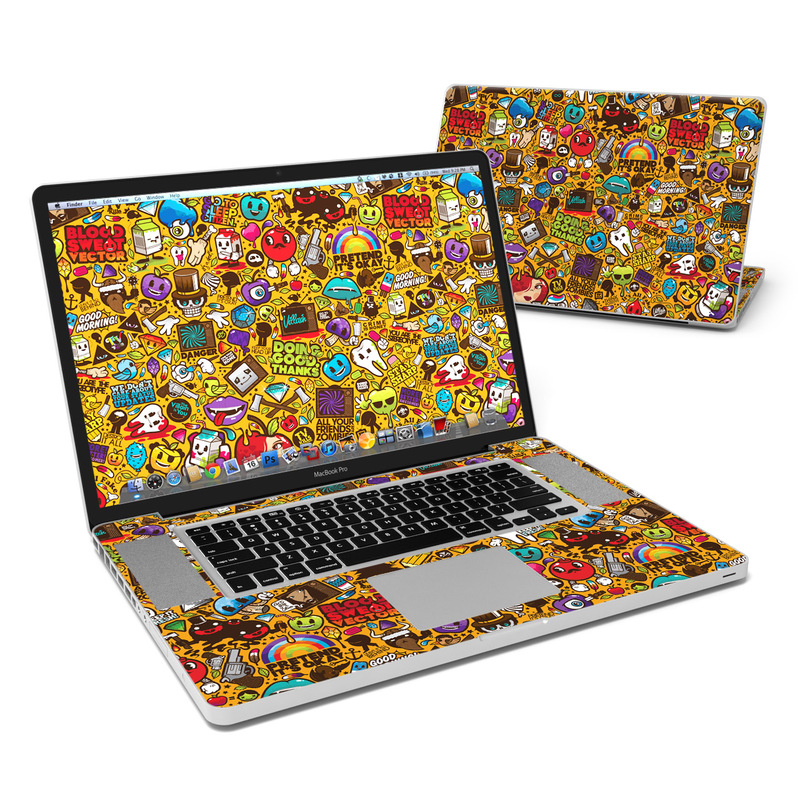 Psychedelic MacBook Pro 17-inch Skin