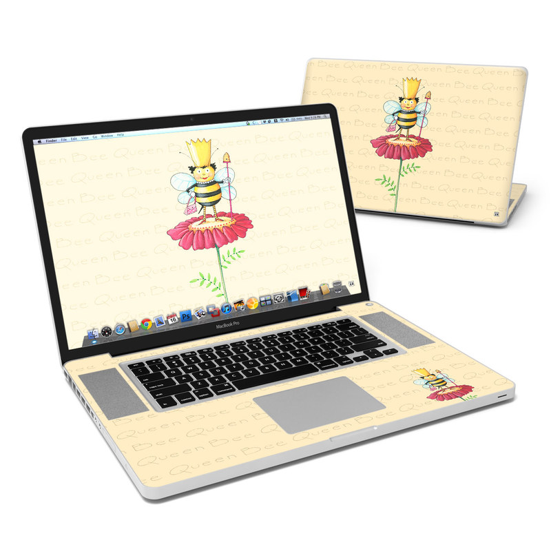 Queen Bee MacBook Pro 17-inch Skin