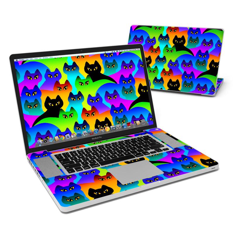 Rainbow Cats MacBook Pro 17-inch Skin