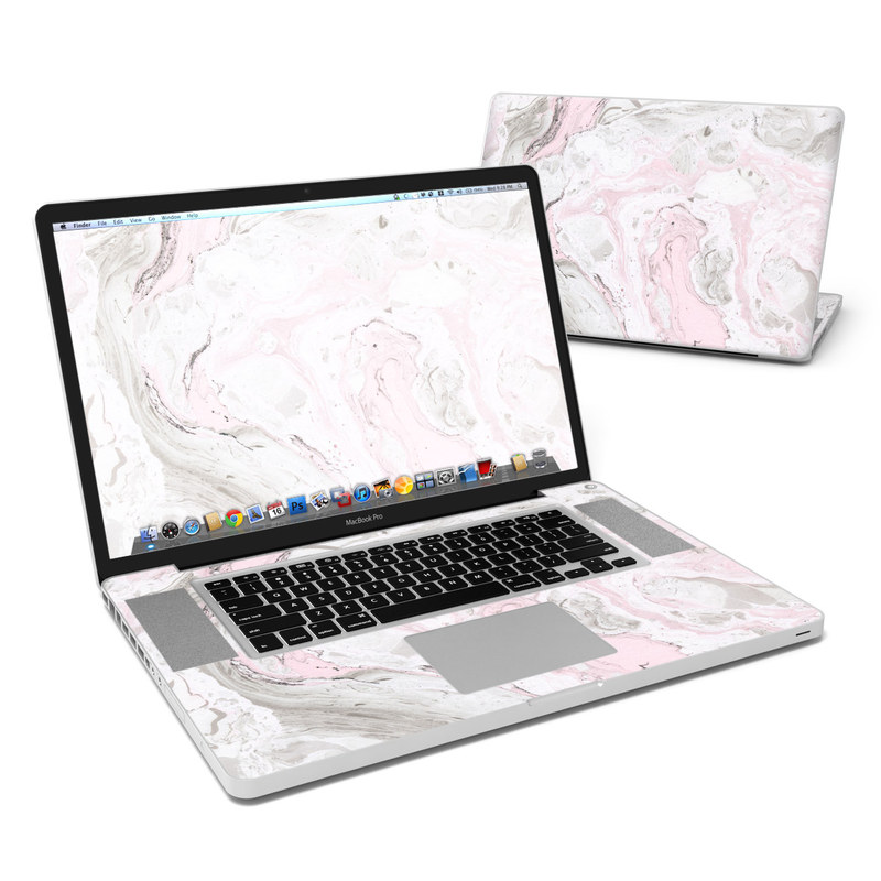 Rosa Marble MacBook Pro 17-inch Skin