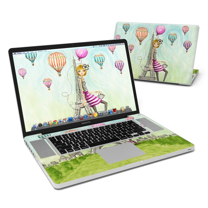 The Sights Paris MacBook Pro 17-inch Skin