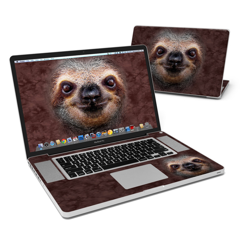Sloth MacBook Pro 17-inch Skin