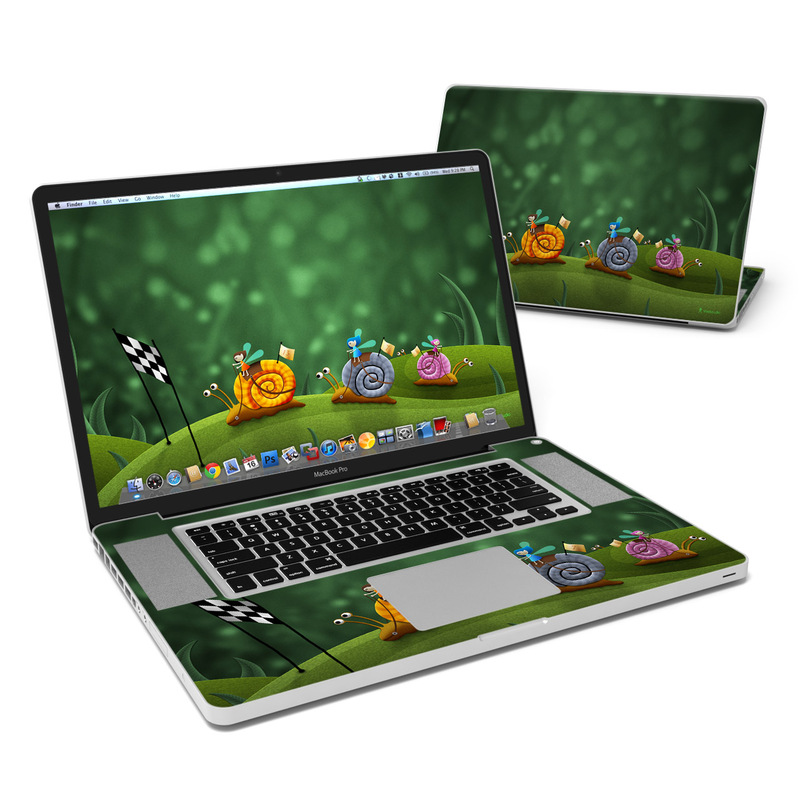 Snail Race MacBook Pro 17-inch Skin
