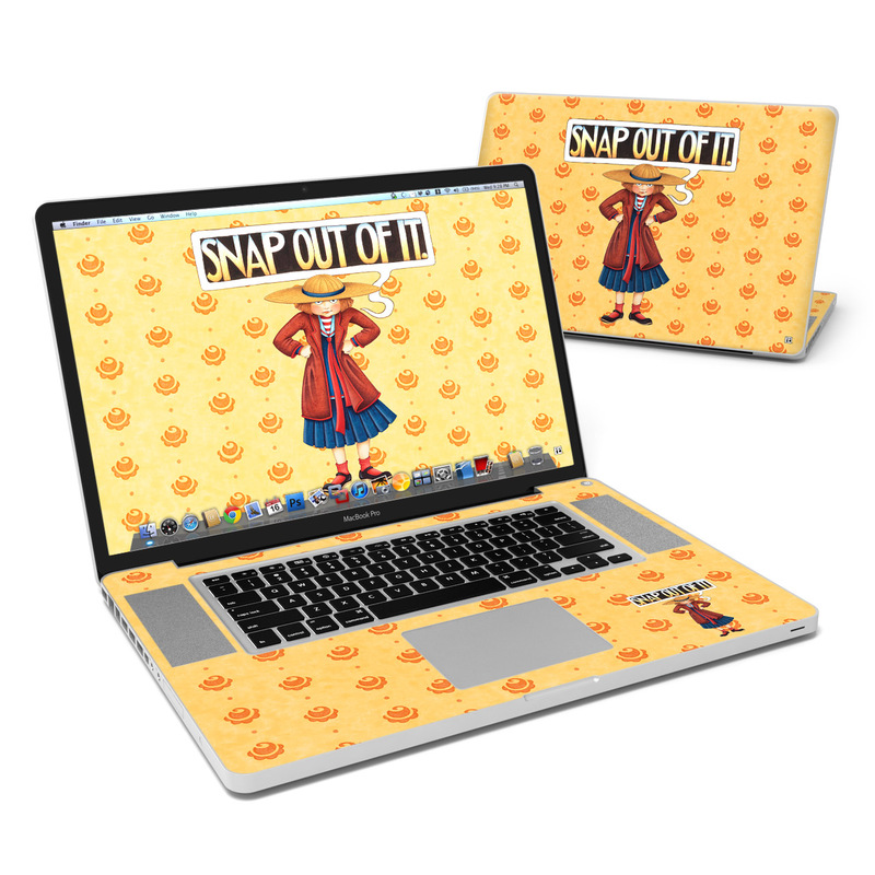 Snap Out Of It MacBook Pro Pre 2012 17-inch Skin
