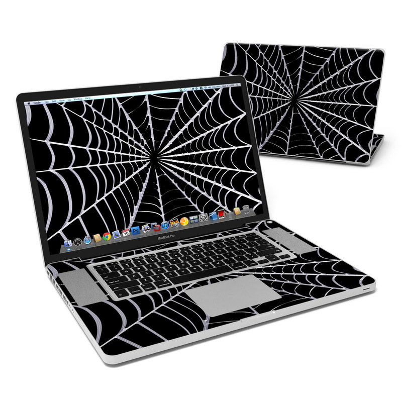 Spiderweb MacBook Pro 17-inch Skin
