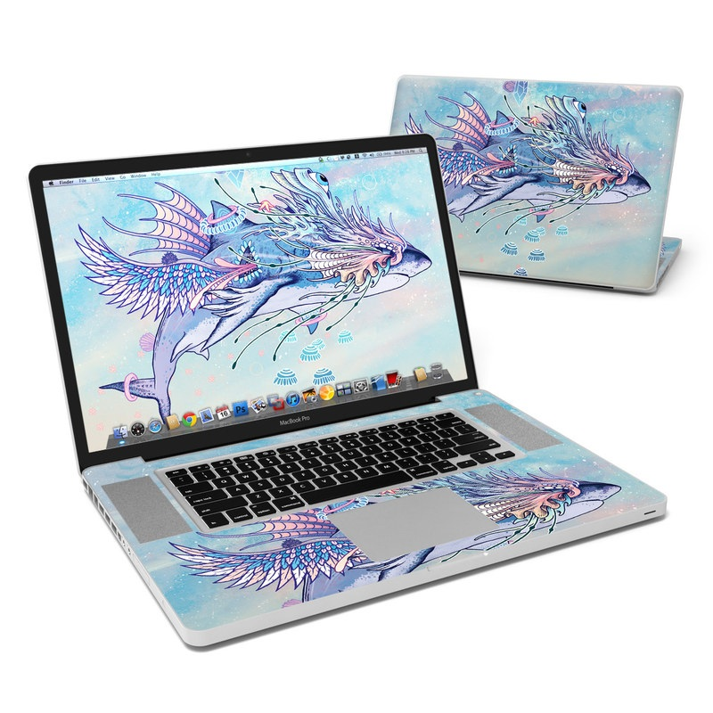 Spirit Shark MacBook Pro 17-inch Skin