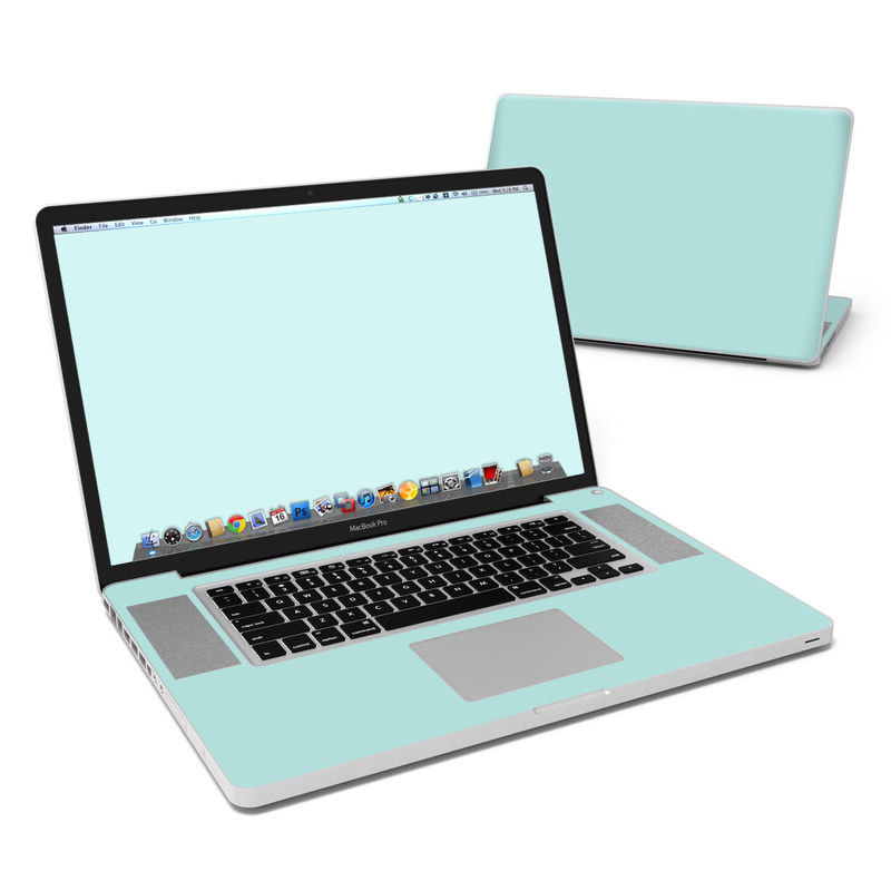 Solid State Mint MacBook Pro Pre 2012 17-inch Skin