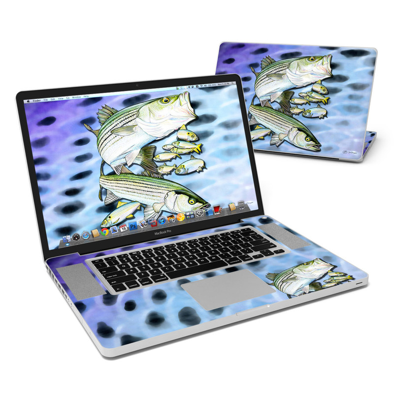 Striped Bass MacBook Pro 17-inch Skin