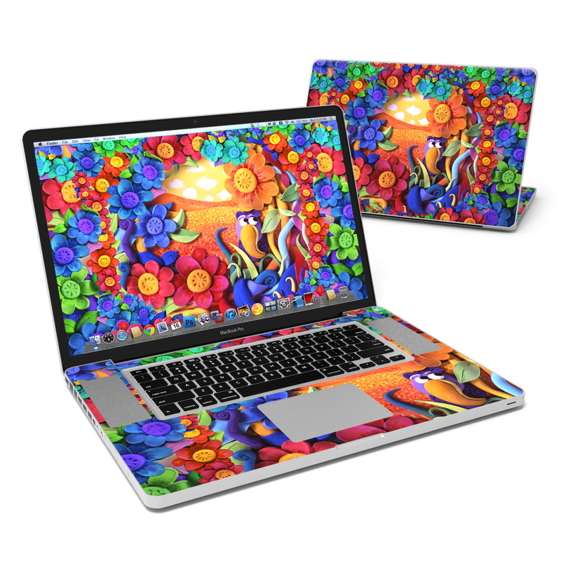 Summerbird MacBook Pro 17-inch Skin