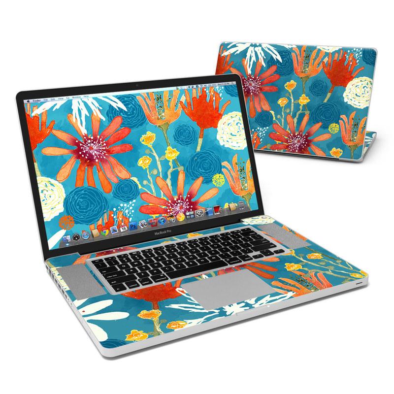 Sunbaked Blooms MacBook Pro 17-inch Skin