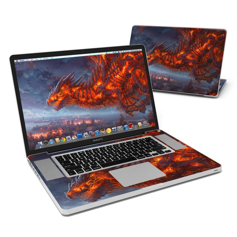 Terror of the Night MacBook Pro Pre 2012 17-inch Skin
