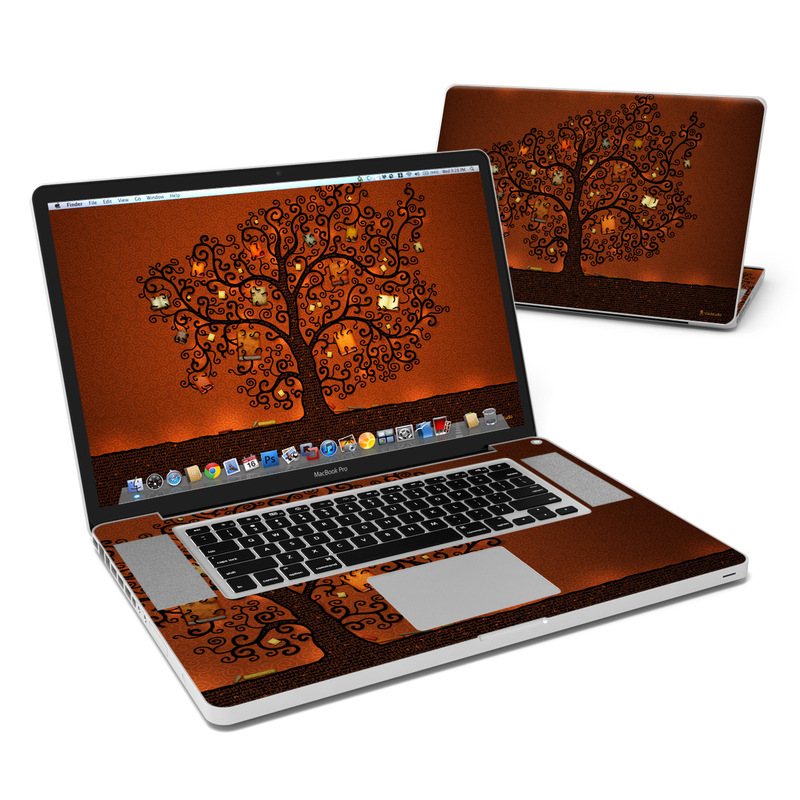 Tree Of Books MacBook Pro 17-inch Skin