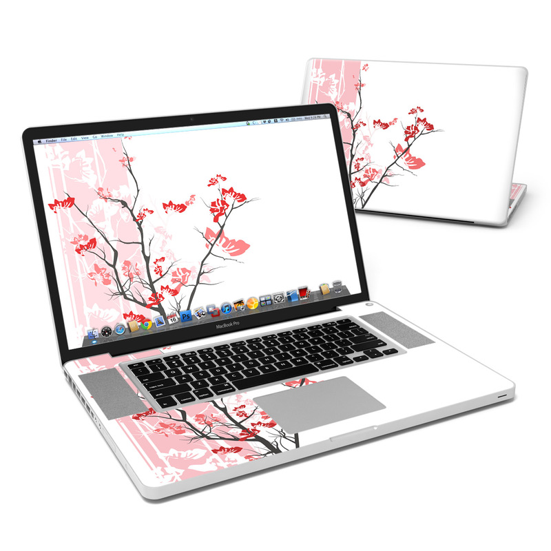 Pink Tranquility MacBook Pro 17-inch Skin