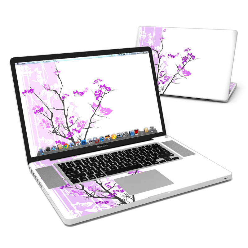 Violet Tranquility MacBook Pro Pre 2012 17-inch Skin