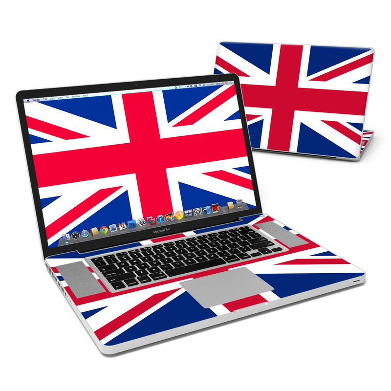 Union Jack MacBook Pro Pre 2012 17-inch Skin