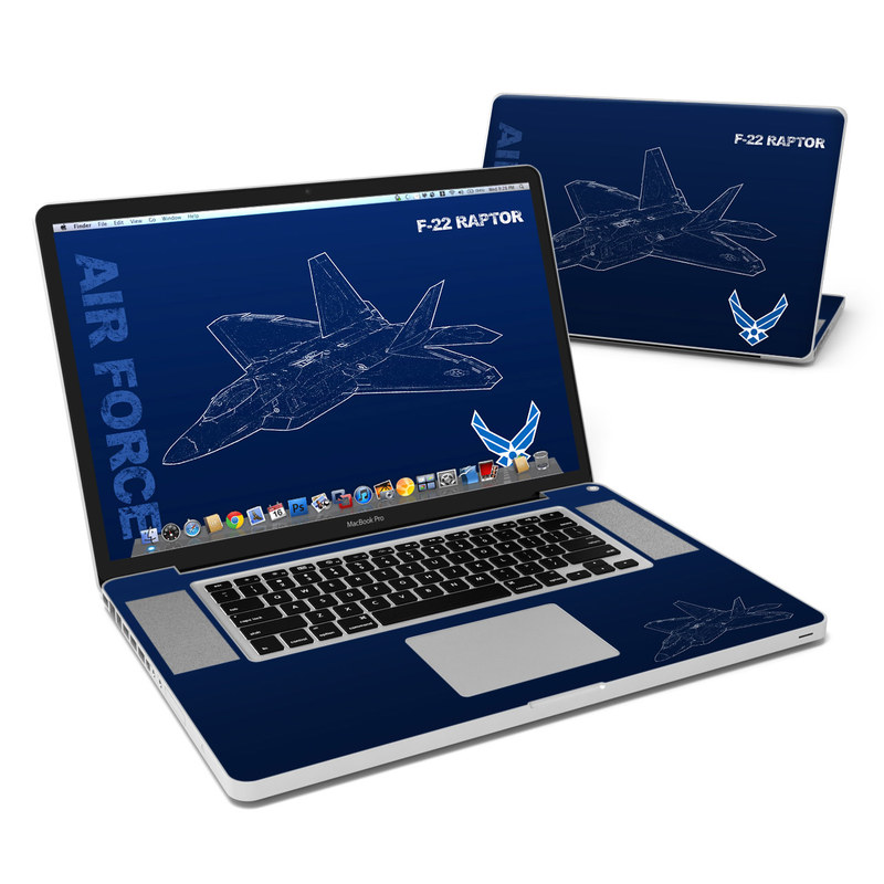 F-22 Raptor MacBook Pro 17-inch Skin