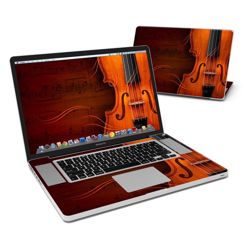 Violin MacBook Pro 17-inch Skin