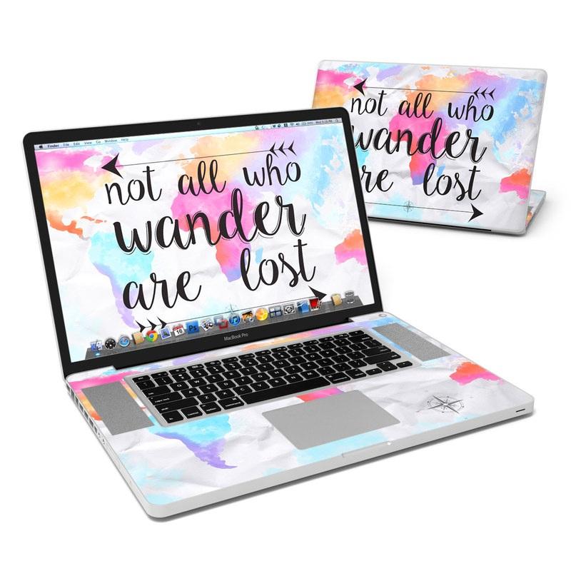 Wander MacBook Pro 17-inch Skin