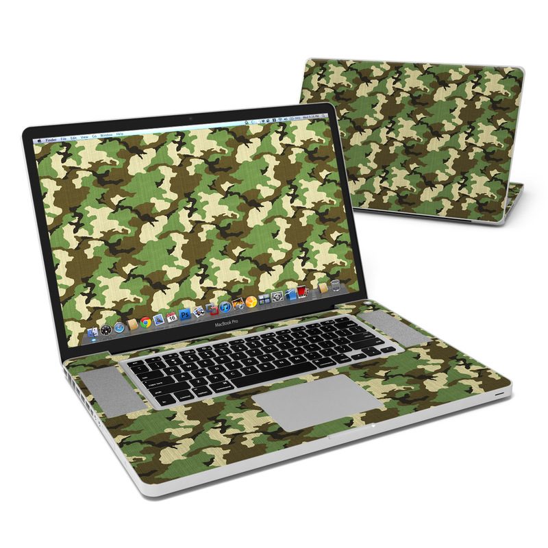 Woodland Camo MacBook Pro 17-inch Skin