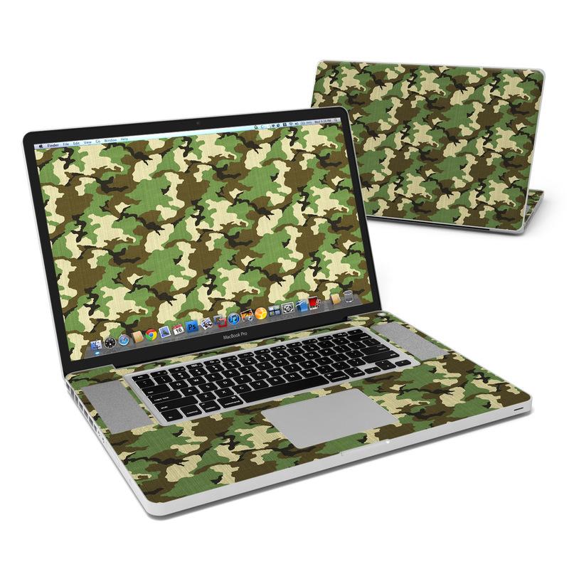 Woodland Camo MacBook Pro 17-inch Skin